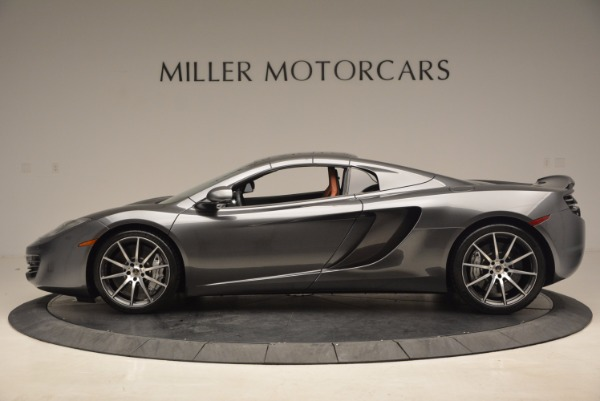 Used 2014 McLaren MP4-12C SPIDER Convertible for sale Sold at Alfa Romeo of Greenwich in Greenwich CT 06830 16