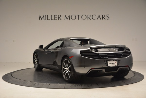 Used 2014 McLaren MP4-12C SPIDER Convertible for sale Sold at Alfa Romeo of Greenwich in Greenwich CT 06830 18