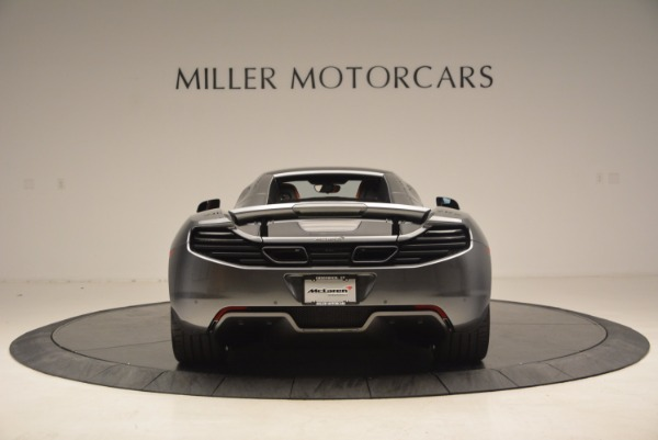 Used 2014 McLaren MP4-12C SPIDER Convertible for sale Sold at Alfa Romeo of Greenwich in Greenwich CT 06830 19