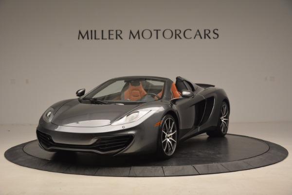 Used 2014 McLaren MP4-12C SPIDER Convertible for sale Sold at Alfa Romeo of Greenwich in Greenwich CT 06830 2