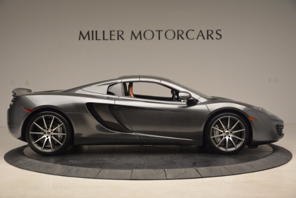 Used 2014 McLaren MP4-12C SPIDER Convertible for sale Sold at Alfa Romeo of Greenwich in Greenwich CT 06830 22