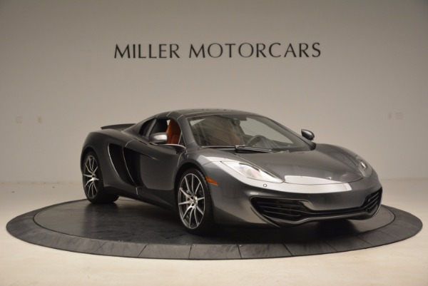Used 2014 McLaren MP4-12C SPIDER Convertible for sale Sold at Alfa Romeo of Greenwich in Greenwich CT 06830 24