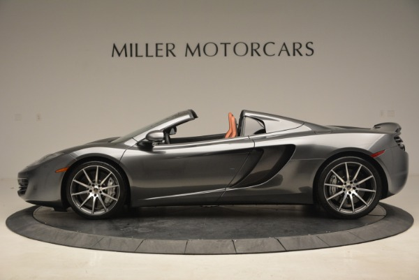 Used 2014 McLaren MP4-12C SPIDER Convertible for sale Sold at Alfa Romeo of Greenwich in Greenwich CT 06830 3