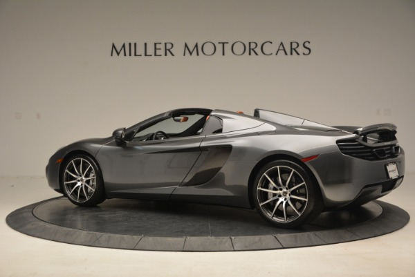 Used 2014 McLaren MP4-12C SPIDER Convertible for sale Sold at Alfa Romeo of Greenwich in Greenwich CT 06830 4