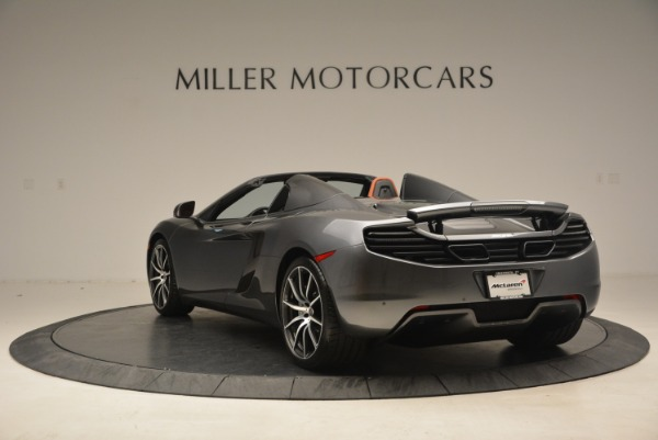 Used 2014 McLaren MP4-12C SPIDER Convertible for sale Sold at Alfa Romeo of Greenwich in Greenwich CT 06830 5