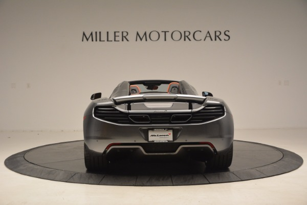 Used 2014 McLaren MP4-12C SPIDER Convertible for sale Sold at Alfa Romeo of Greenwich in Greenwich CT 06830 6