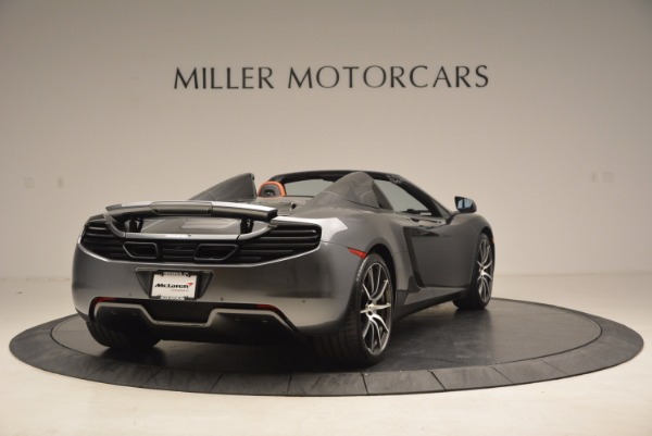 Used 2014 McLaren MP4-12C SPIDER Convertible for sale Sold at Alfa Romeo of Greenwich in Greenwich CT 06830 7