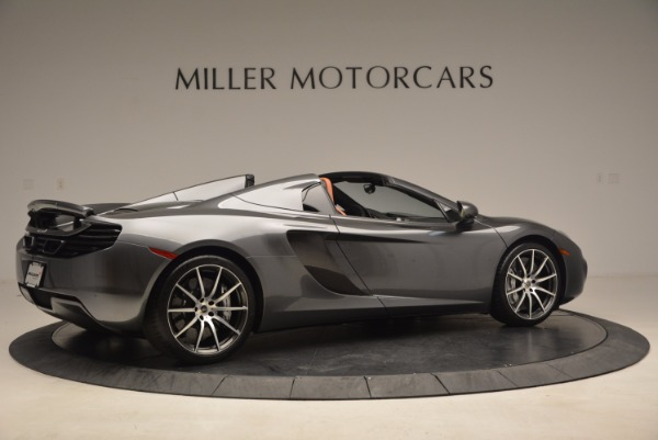 Used 2014 McLaren MP4-12C SPIDER Convertible for sale Sold at Alfa Romeo of Greenwich in Greenwich CT 06830 8