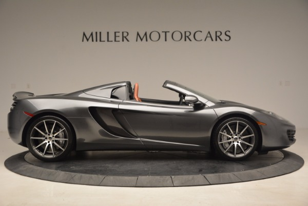 Used 2014 McLaren MP4-12C SPIDER Convertible for sale Sold at Alfa Romeo of Greenwich in Greenwich CT 06830 9