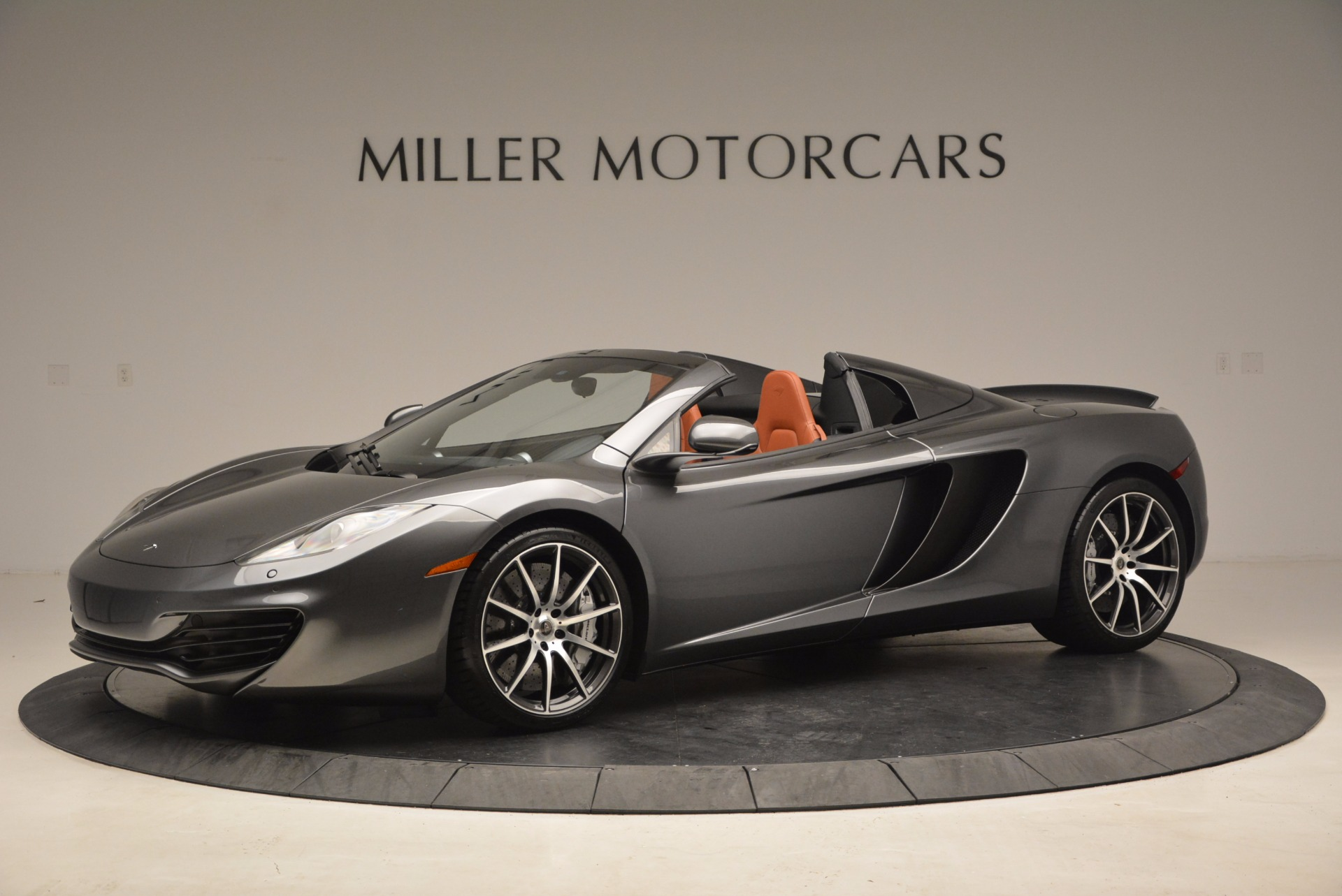 Used 2014 McLaren MP4-12C SPIDER Convertible for sale Sold at Alfa Romeo of Greenwich in Greenwich CT 06830 1