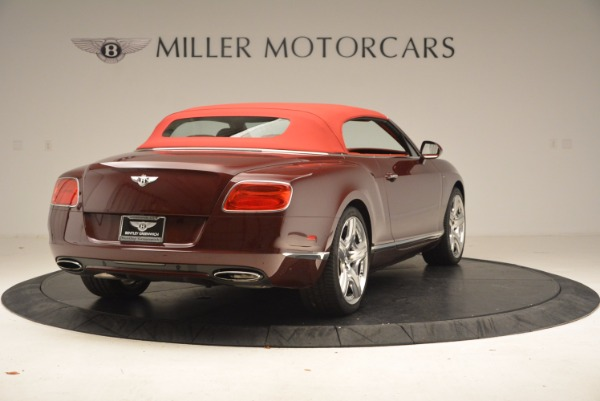 Used 2014 Bentley Continental GT W12 for sale Sold at Alfa Romeo of Greenwich in Greenwich CT 06830 20