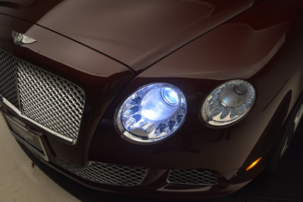 Used 2014 Bentley Continental GT W12 for sale Sold at Alfa Romeo of Greenwich in Greenwich CT 06830 27