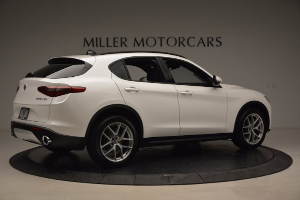 New 2018 Alfa Romeo Stelvio Ti Sport Q4 for sale Sold at Alfa Romeo of Greenwich in Greenwich CT 06830 8