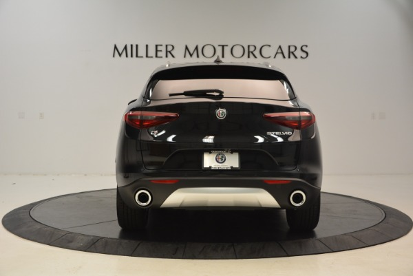 New 2018 Alfa Romeo Stelvio Q4 for sale Sold at Alfa Romeo of Greenwich in Greenwich CT 06830 6