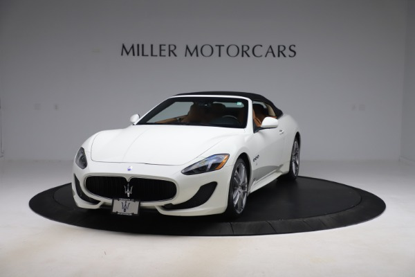 New 2017 Maserati GranTurismo Convertible Sport for sale Sold at Alfa Romeo of Greenwich in Greenwich CT 06830 13