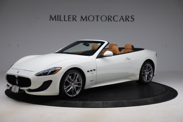 New 2017 Maserati GranTurismo Convertible Sport for sale Sold at Alfa Romeo of Greenwich in Greenwich CT 06830 2
