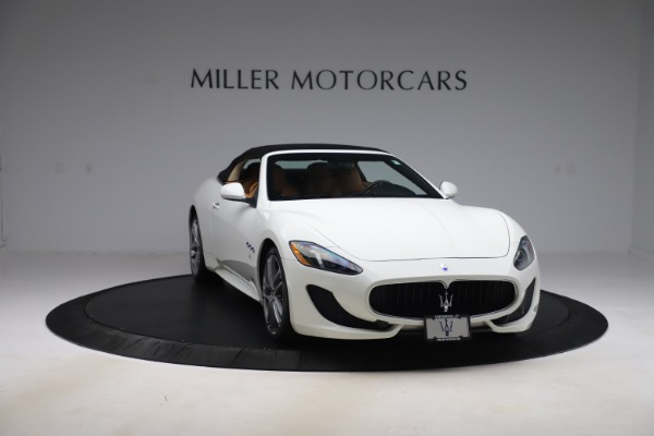 New 2017 Maserati GranTurismo Convertible Sport for sale Sold at Alfa Romeo of Greenwich in Greenwich CT 06830 22