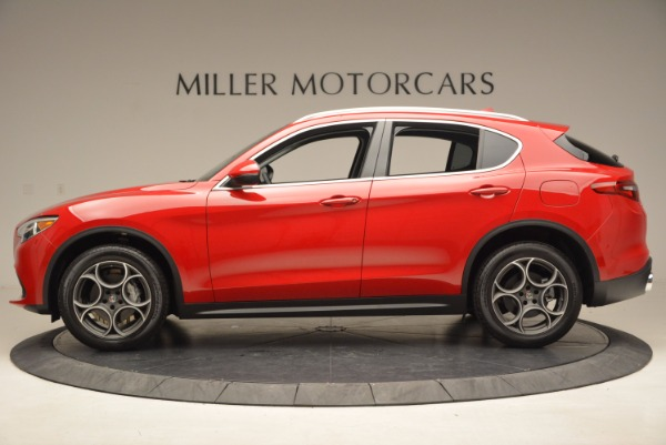New 2018 Alfa Romeo Stelvio Q4 for sale Sold at Alfa Romeo of Greenwich in Greenwich CT 06830 3