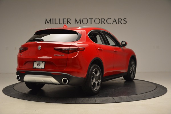 New 2018 Alfa Romeo Stelvio Q4 for sale Sold at Alfa Romeo of Greenwich in Greenwich CT 06830 7
