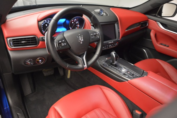 Used 2017 Maserati Levante S Q4 for sale Sold at Alfa Romeo of Greenwich in Greenwich CT 06830 14