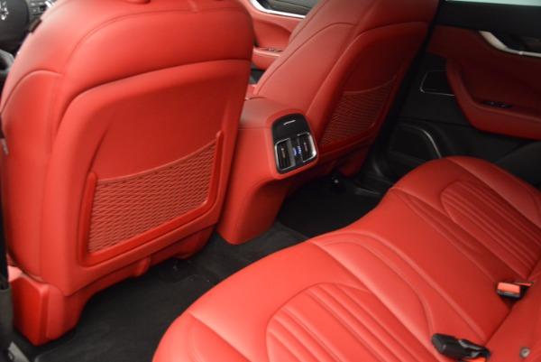Used 2017 Maserati Levante S Q4 for sale Sold at Alfa Romeo of Greenwich in Greenwich CT 06830 17