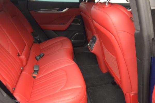 Used 2017 Maserati Levante S Q4 for sale Sold at Alfa Romeo of Greenwich in Greenwich CT 06830 21