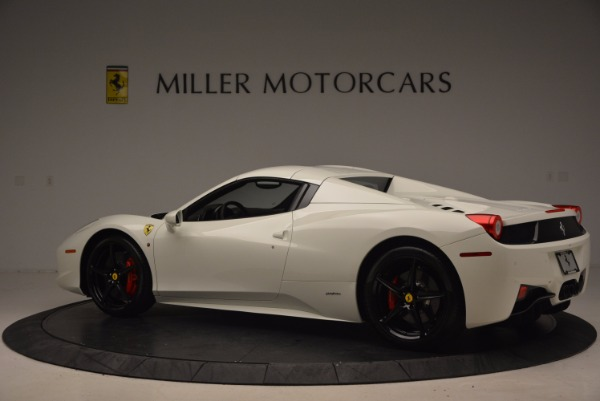 Used 2015 Ferrari 458 Spider for sale Sold at Alfa Romeo of Greenwich in Greenwich CT 06830 16