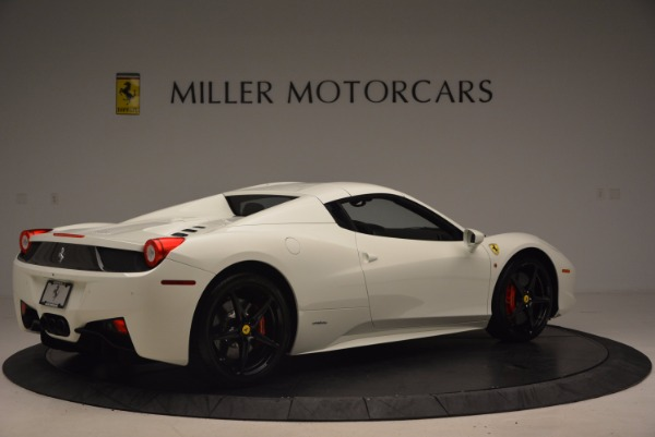 Used 2015 Ferrari 458 Spider for sale Sold at Alfa Romeo of Greenwich in Greenwich CT 06830 20