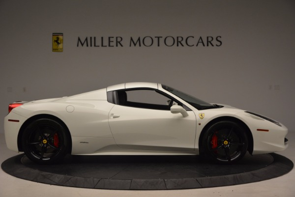 Used 2015 Ferrari 458 Spider for sale Sold at Alfa Romeo of Greenwich in Greenwich CT 06830 21