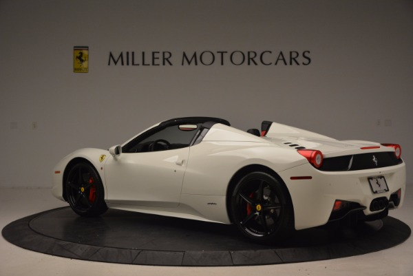 Used 2015 Ferrari 458 Spider for sale Sold at Alfa Romeo of Greenwich in Greenwich CT 06830 4