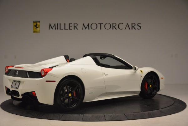 Used 2015 Ferrari 458 Spider for sale Sold at Alfa Romeo of Greenwich in Greenwich CT 06830 8
