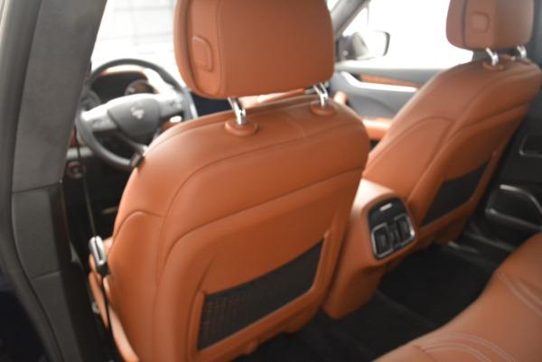 Used 2018 Maserati Levante Q4 GranLusso for sale $59,900 at Alfa Romeo of Greenwich in Greenwich CT 06830 19