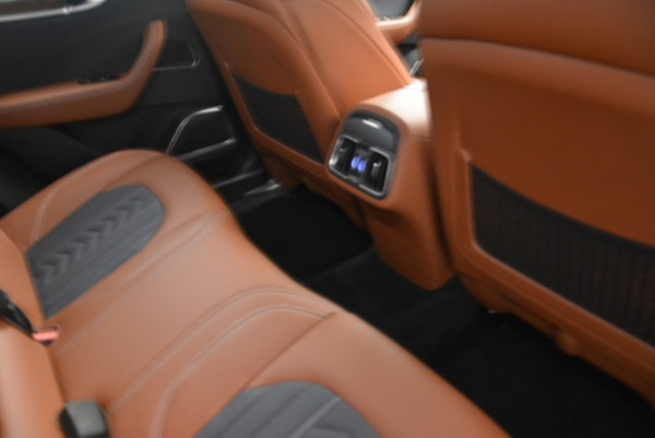 Used 2018 Maserati Levante Q4 GranLusso for sale Sold at Alfa Romeo of Greenwich in Greenwich CT 06830 20