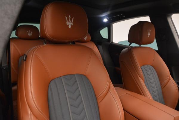Used 2018 Maserati Levante Q4 GranLusso for sale $59,900 at Alfa Romeo of Greenwich in Greenwich CT 06830 23