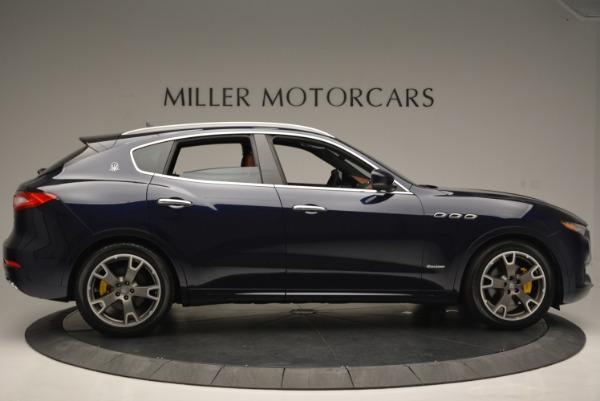 Used 2018 Maserati Levante Q4 GranLusso for sale Sold at Alfa Romeo of Greenwich in Greenwich CT 06830 9