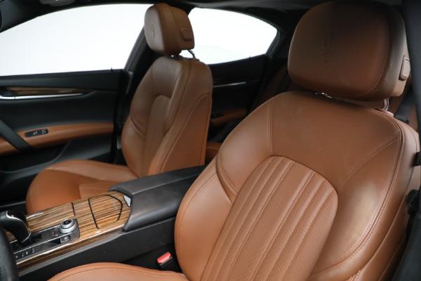 Used 2018 Maserati Ghibli S Q4 GranLusso for sale $56,900 at Alfa Romeo of Greenwich in Greenwich CT 06830 13