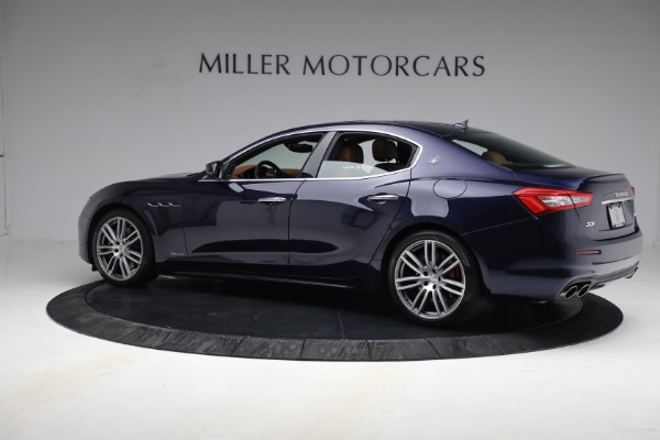 New 2018 Maserati Ghibli S Q4 GranLusso for sale Sold at Alfa Romeo of Greenwich in Greenwich CT 06830 3