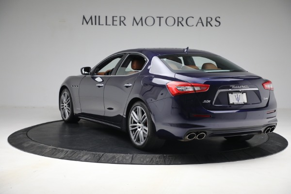 New 2018 Maserati Ghibli S Q4 GranLusso for sale Sold at Alfa Romeo of Greenwich in Greenwich CT 06830 4