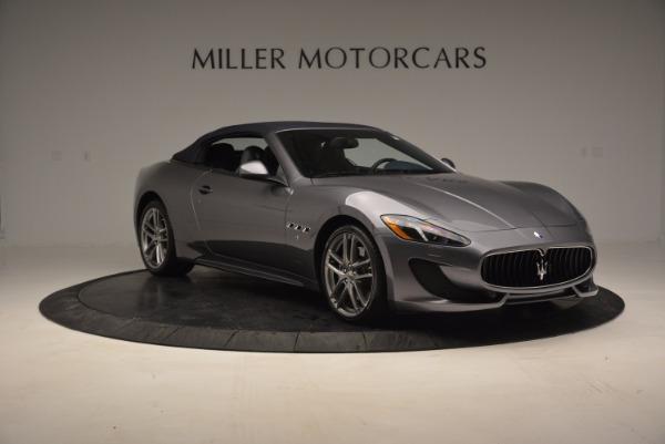 New 2016 Maserati GranTurismo Convertible Sport for sale Sold at Alfa Romeo of Greenwich in Greenwich CT 06830 16