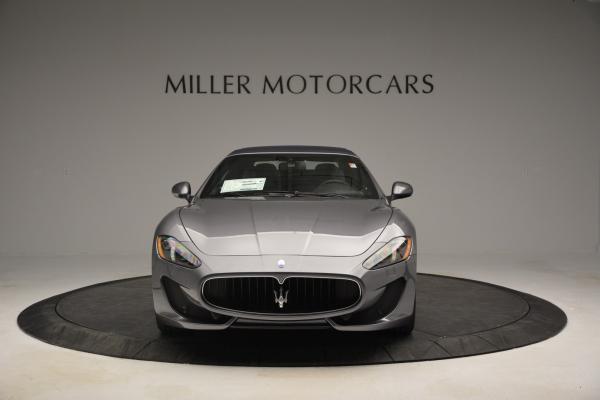 New 2016 Maserati GranTurismo Convertible Sport for sale Sold at Alfa Romeo of Greenwich in Greenwich CT 06830 17