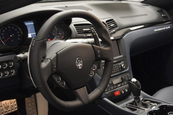 New 2016 Maserati GranTurismo Convertible Sport for sale Sold at Alfa Romeo of Greenwich in Greenwich CT 06830 18