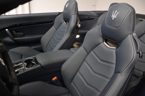 New 2016 Maserati GranTurismo Convertible Sport for sale Sold at Alfa Romeo of Greenwich in Greenwich CT 06830 22