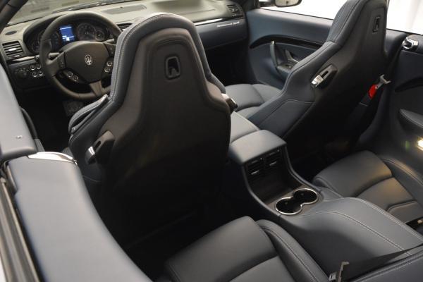 New 2016 Maserati GranTurismo Convertible Sport for sale Sold at Alfa Romeo of Greenwich in Greenwich CT 06830 23