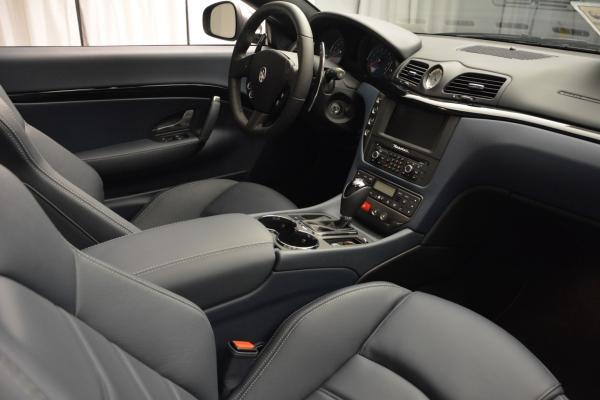 New 2016 Maserati GranTurismo Convertible Sport for sale Sold at Alfa Romeo of Greenwich in Greenwich CT 06830 27