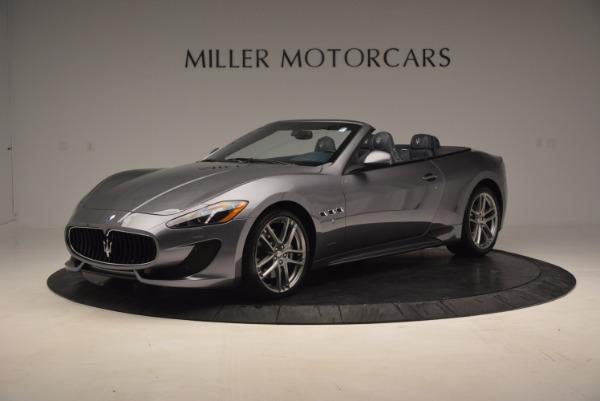 New 2016 Maserati GranTurismo Convertible Sport for sale Sold at Alfa Romeo of Greenwich in Greenwich CT 06830 3