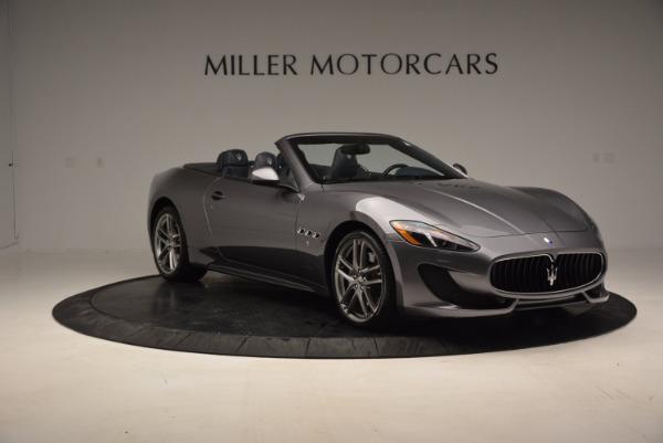 New 2016 Maserati GranTurismo Convertible Sport for sale Sold at Alfa Romeo of Greenwich in Greenwich CT 06830 8