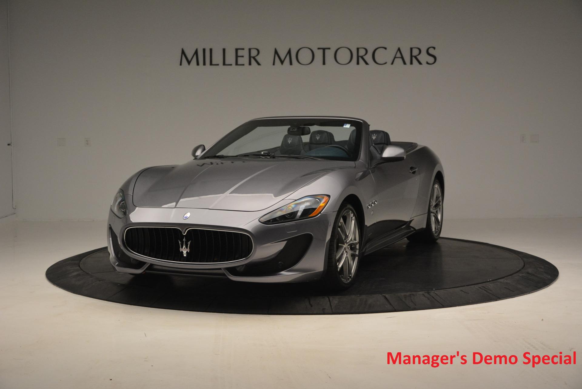 New 2016 Maserati GranTurismo Convertible Sport for sale Sold at Alfa Romeo of Greenwich in Greenwich CT 06830 1