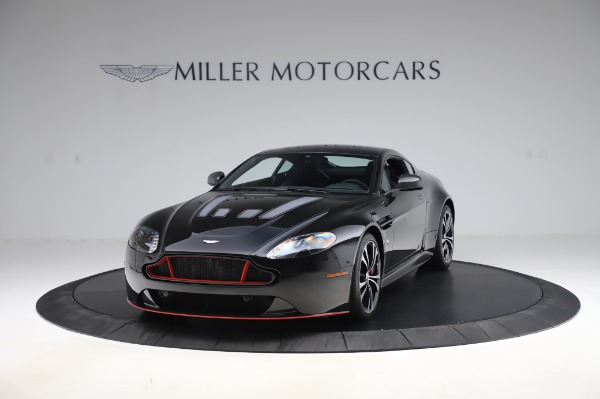 Used 2017 Aston Martin V12 Vantage S Coupe for sale $179,900 at Alfa Romeo of Greenwich in Greenwich CT 06830 12