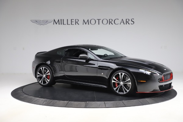 Used 2017 Aston Martin V12 Vantage S Coupe for sale Sold at Alfa Romeo of Greenwich in Greenwich CT 06830 9
