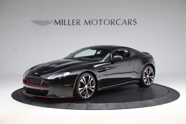 New 2017 Aston Martin V12 Vantage S for sale Sold at Alfa Romeo of Greenwich in Greenwich CT 06830 1